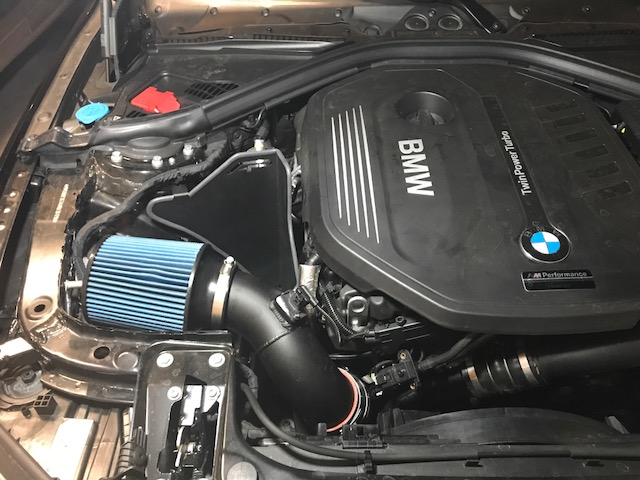 AP intake hot as hell install help